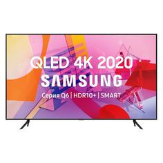 "Телевизоры QLED телевизор SAMSUNG QE85Q60TAUXRU, 85"", Ultra HD 4K"