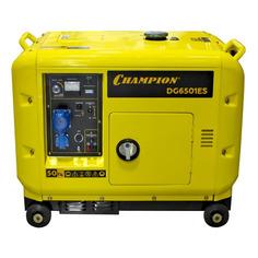 Дизельный генератор CHAMPION DG6501ES, 230 В, 5.5кВт