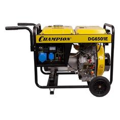 Дизельный генератор CHAMPION DG6501E, 230 В, 5.5кВт