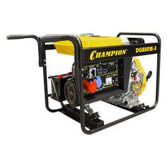 Дизельный генератор CHAMPION DG6501E-3, 380/220/12 В, 5.4кВт