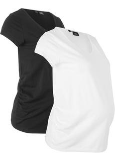 Одежда для беременных Футболка для будущих мам (2 шт.) Bonprix