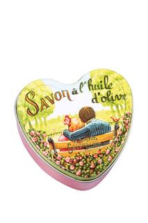 Мыло с розой в форме сердца La Savonnerie de Nyons