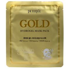 Гидрогелевая маска для лица с золотом в одноразовой упаковке Petitfee
