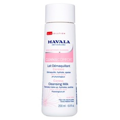 Clean&Comfort Очищающее молочко для деликатного ухода Mavala