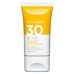 Solaire Toucher Sec Visage Солнцезащитный крем для лица SPF30 Clarins