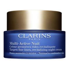 Multi-Active Ночной крем против первых возрастных изменений для нормальной и комбинированной кожи Clarins