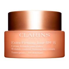 Extra-Firming Регенерирующий дневной крем против морщин для любого типа кожи SPF15 Clarins