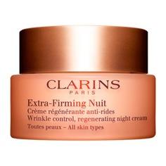 Extra-Firming Регенерирующий ночной крем против морщин для любого типа кожи Clarins
