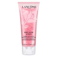 Rose Sugar Scrub Гоммаж-эксфолиант для лица c сахарными частицами и розовой водой Lancome