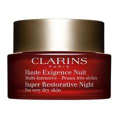 Multi-Intensive Восстанавливающий ночной крем интенсивного действия для сухой кожи Clarins