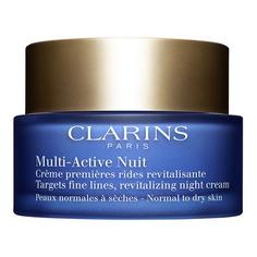 Multi-Active Ночной крем против первых возрастных изменений для нормальной и сухой кожи Clarins