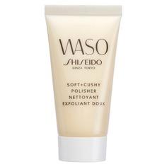 WASO Мягкий эксфолиант для улучшения текстуры кожи в дорожном формате Shiseido