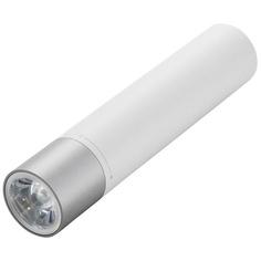 Внешний аккумулятор Xiaomi Mi Power Bank Flashlight 3250 мАч, серебристый