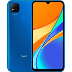 Смартфон Xiaomi Redmi 9C 32 ГБ синий