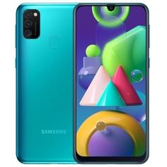 Смартфон Samsung Galaxy M21 64 ГБ зелёный
