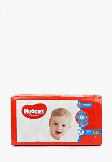 Подгузники Huggies Classic, размер 4 (7-18 кг), 68 шт.