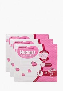 Подгузники Huggies Ultra Comfort для девочек 5 (12-22кг), 105 шт.