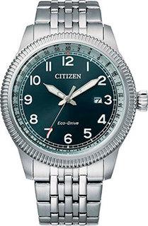 Японские наручные мужские часы Citizen BM7480-81L. Коллекция Eco-Drive