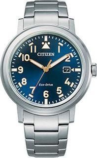 Японские наручные мужские часы Citizen AW1620-81L. Коллекция Eco-Drive