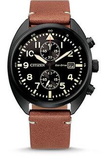 Японские наручные мужские часы Citizen CA7045-14E. Коллекция Eco-Drive