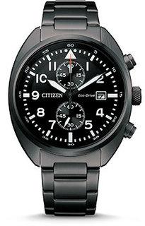 Японские наручные мужские часы Citizen CA7047-86E. Коллекция Eco-Drive