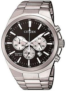 Японские наручные мужские часы Citizen AN8170-59E. Коллекция Chronograph