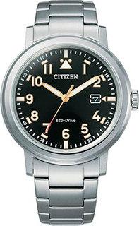 Японские наручные мужские часы Citizen AW1620-81E. Коллекция Eco-Drive
