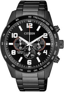 Японские наручные мужские часы Citizen AN8165-59E. Коллекция Chronograph