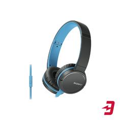 Наушники c микрофоном Sony MDR-ZX660AP Blue