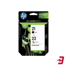 Комплект картриджей HP 21 Black + 22 Tri-colour SD367AE
