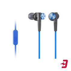 Наушники с микрофоном Sony MDR-XB50AP Blue
