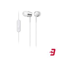 Наушники с микрофоном Sony MDR-EX155AP White (MDREX155APWQ)