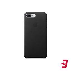 Чехол Apple для iPhone 8 Plus/7 Plus Leather Case Black (MQHM2ZM/A)