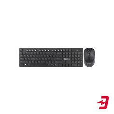 Комплект клавиатура + мышь Intro DW610 Wireless Black