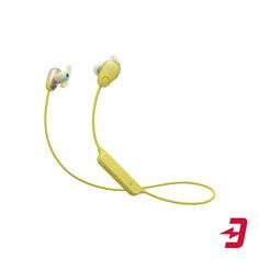 Беспроводные наушники с микрофоном Sony WI-SP600N Yellow