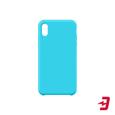 Чехол InterStep Soft-Touch для Apple iPhone Xs/X Turquoise (HSF-IPH5818K-NP1125O-K100)