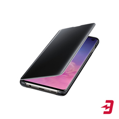 Чехол Samsung Clear View Cover для Galaxy S10 Black (EF-ZG973CBEGRU)