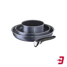Набор посуды Tefal 04180850 Ingenio Twinkle Grey