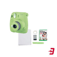 Фотоаппарат моментальной печати Fujifilm Instax Mini 9 Green (Lime Green Set Fest)