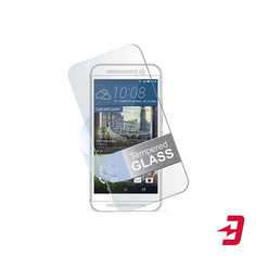 Защитное стекло 3D на заднюю панель InterStep для Apple iPhone 8 Silver (IS-TG-IPH8BK3DW-000B202)