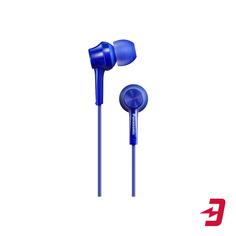Наушники с микрофоном Panasonic RP-TCM115GCA Blue