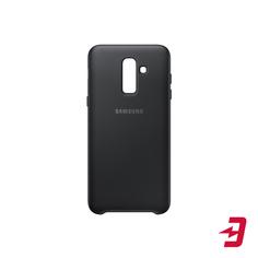 Чехол Samsung Dual Layer Cover для Samsung Galaxy J8 (2018) Black (EF-PJ810CBEGRU)