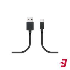 Кабель W.O.L.T. USB/MicroUSB 1 м Black (CAB-100)