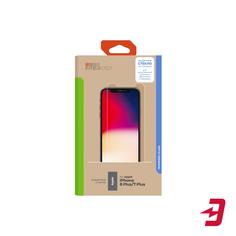 Защитное стекло InterStep глянцевое iPhone 8 Plus/7 Plus (IS-TG-IPHON8PLS-UA3B202)