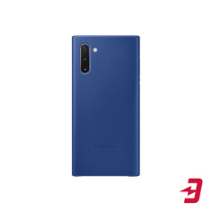 Чехол Samsung Leather Cover для Note 10 Blue (EF-VN970LLEGRU)