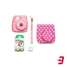 Фотоаппарат моментальной печати Fujifilm Instax Mini 9 Pink (Blue Star Set)