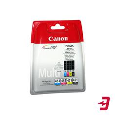 Картридж Canon CLI-451 C/M/Y/BK 4 шт (6524B004)