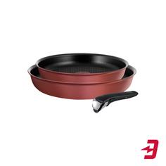 Набор посуды Tefal L6598672 Ingenio Chef Red, 3 предмета