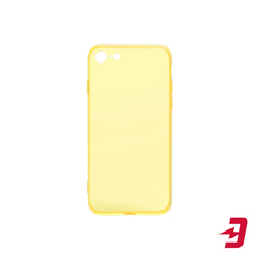 Чехол InterStep Slender Color EL для iPhone SE 2020/8/7 Yellow (IS-FCC-APP0IPH87-SC18O-ELGD00)