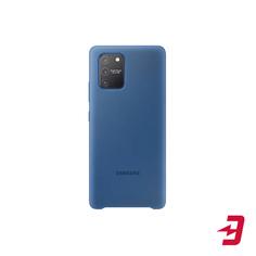 Чехол Samsung Silicone Cover для S10 Lite Blue (EF-PG770TLEGRU)